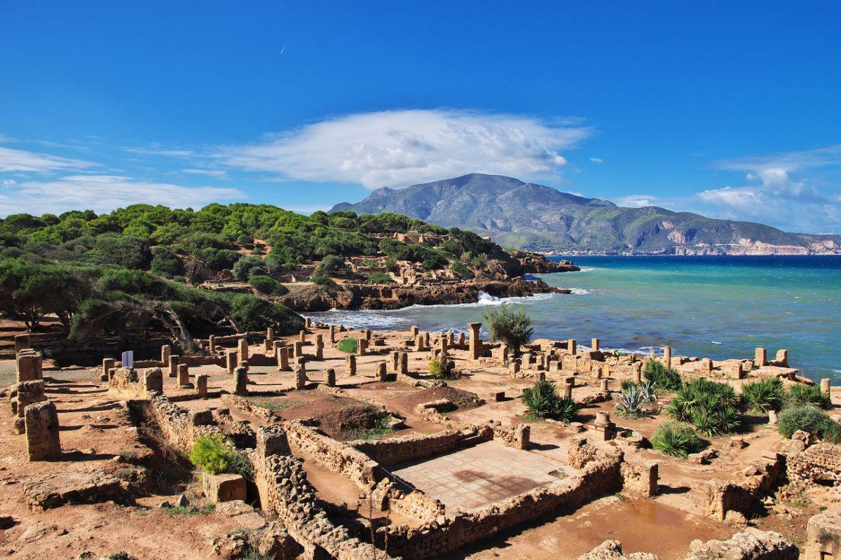 صور الجزائر، صور سفر، أفضل الوجهات السياحية في الجزائر، تيبازة