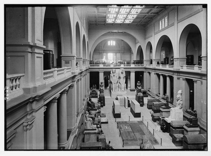 صور القاهرة القديمة، صور الزمن الجميل، المتحف المصري