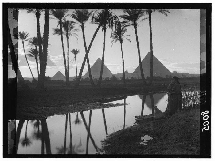 صور القاهرة القديمة، صور الزمن الجميل، اهرامات مصر