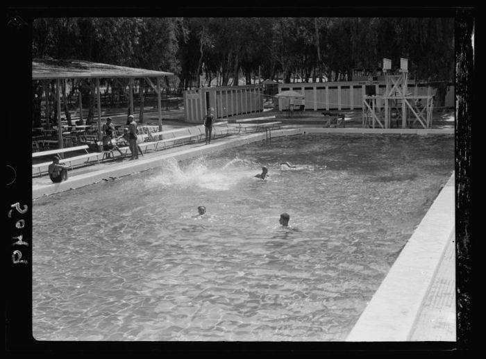 صور القاهرة القديمة، صور الزمن الجميل، مسبح في هليوبوليس