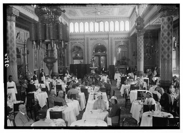 صور القاهرة القديمة، صور الزمن الجميل، مطعم شيبرد هوتيل، shepheard s hotel