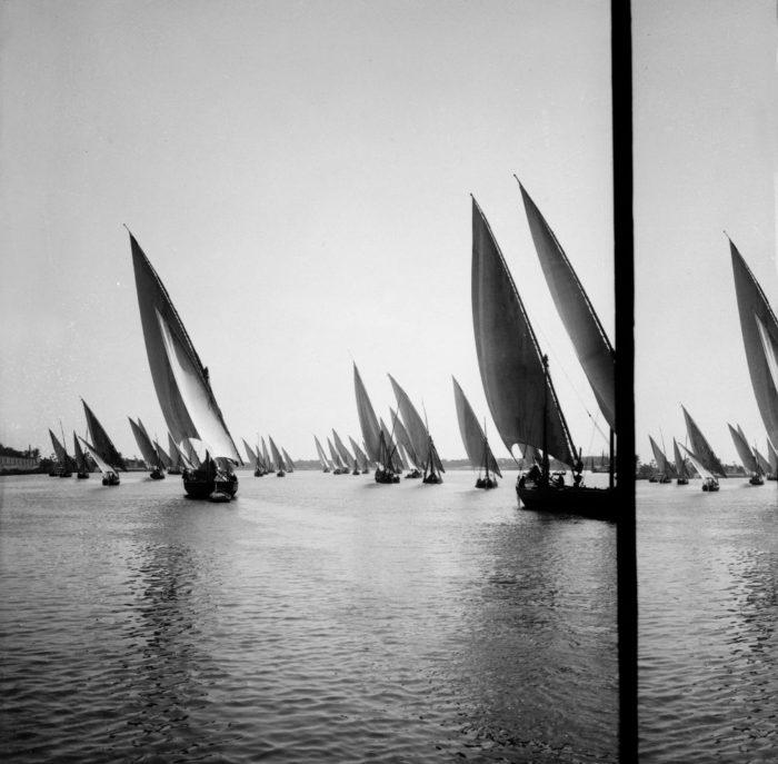 صور القاهرة القديمة، صور الزمن الجميل، نزهة على النيل