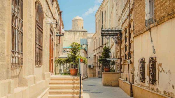 صور المعالم السياحية في أذربيجان المدينة القديمة، باكو