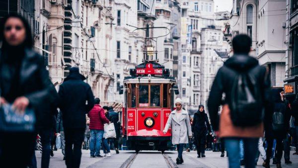 صور المعالم السياحية في تركيا شارع إستقلال، إسطنبول