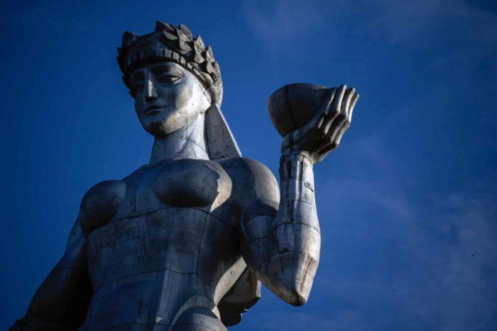 صور المعالم السياحية في جورجيا تمثال أم الجورجين، تبليسي