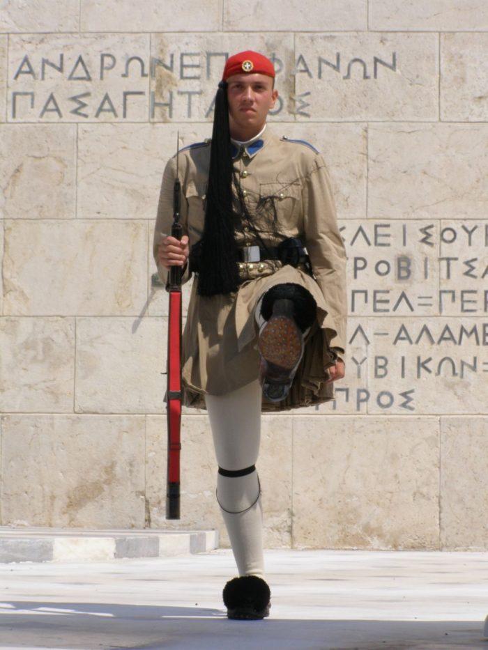صور أثينا، صور سفر، أفضل المعالم السياحية في أثينا، الحرس البرلمانيّ