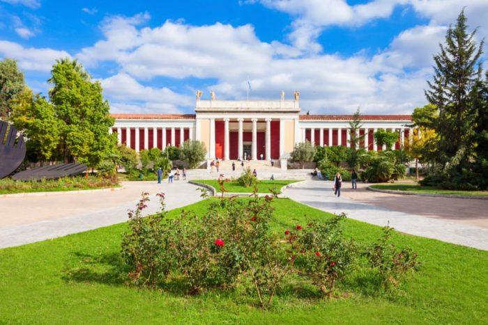 صور أثينا، صور سفر، أفضل المعالم السياحية في أثينا، المتحف الأثري الوطني
