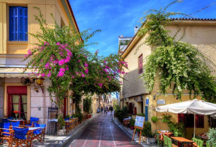 صور أثينا، صور سفر، أفضل المعالم السياحية في أثينا، بلاكا أثينا