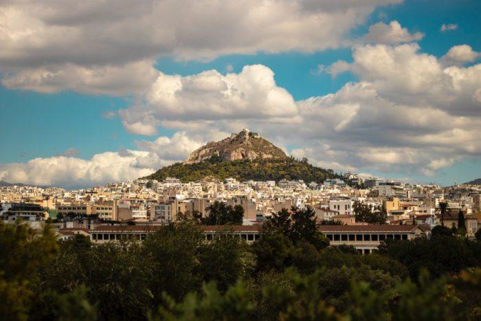 صور أثينا، صور سفر، أفضل المعالم السياحية في أثينا، جبل ليكابيتوس