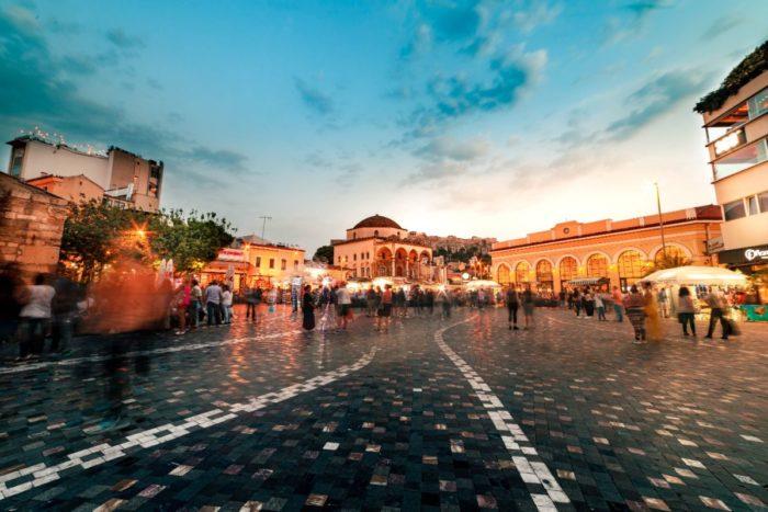 صور أثينا، صور سفر، أفضل المعالم السياحية في أثينا، حي موناسيتراكي