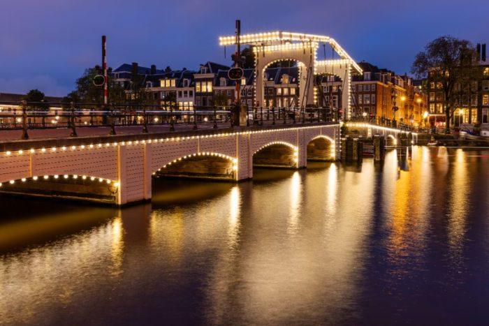 صور أمستردام، صور سفر، أفضل المعالم السياحية في أمستردام، جسر ماجيري بروغ