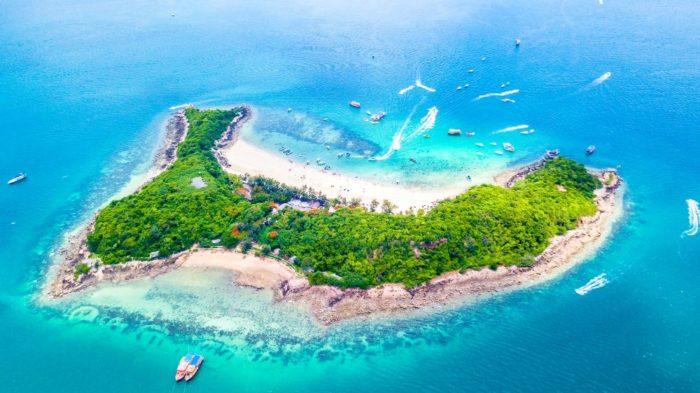 صور بتايا، أهم المعالم السياحية في بتايا، جزيرة كوه لارن