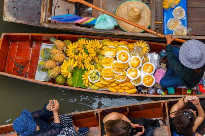 صور بتايا، أهم المعالم السياحية في بتايا، سوق بتايا العائم