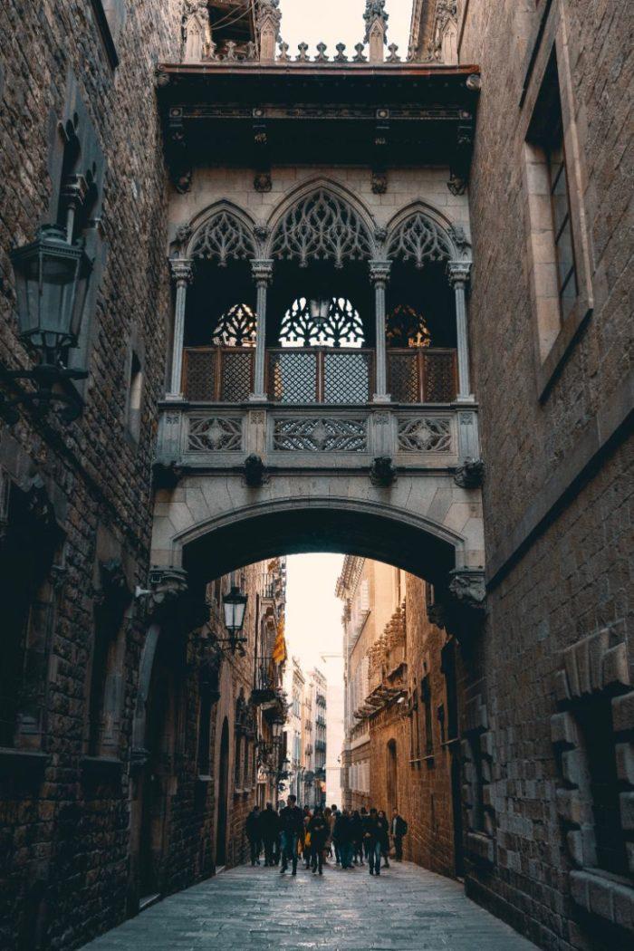 صور برشلونة، صور سفر، أفضل المعالم السياحية في برشلونة، الحي القوطي
