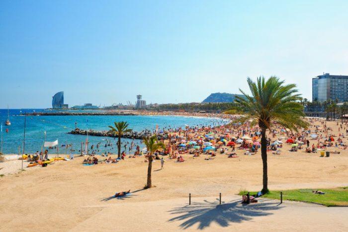 صور برشلونة، صور سفر، أفضل المعالم السياحية في برشلونة، شاطئ برشلونيتا