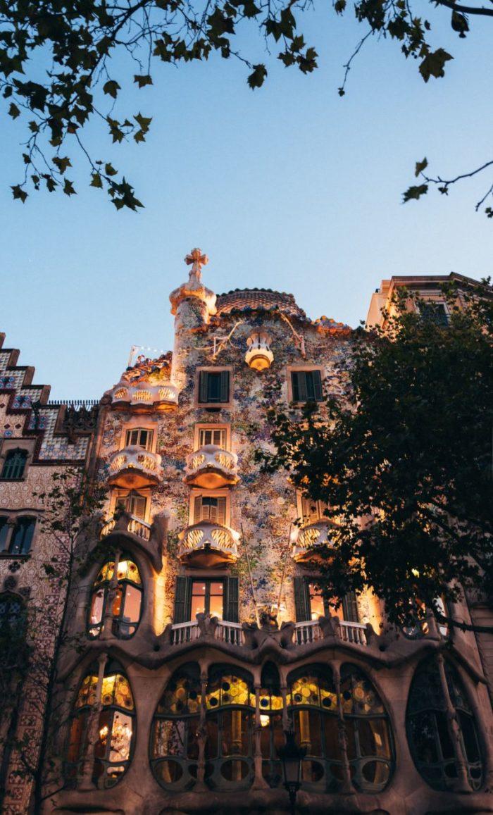 صور برشلونة، صور سفر، أفضل المعالم السياحية في برشلونة، كازا باتيو