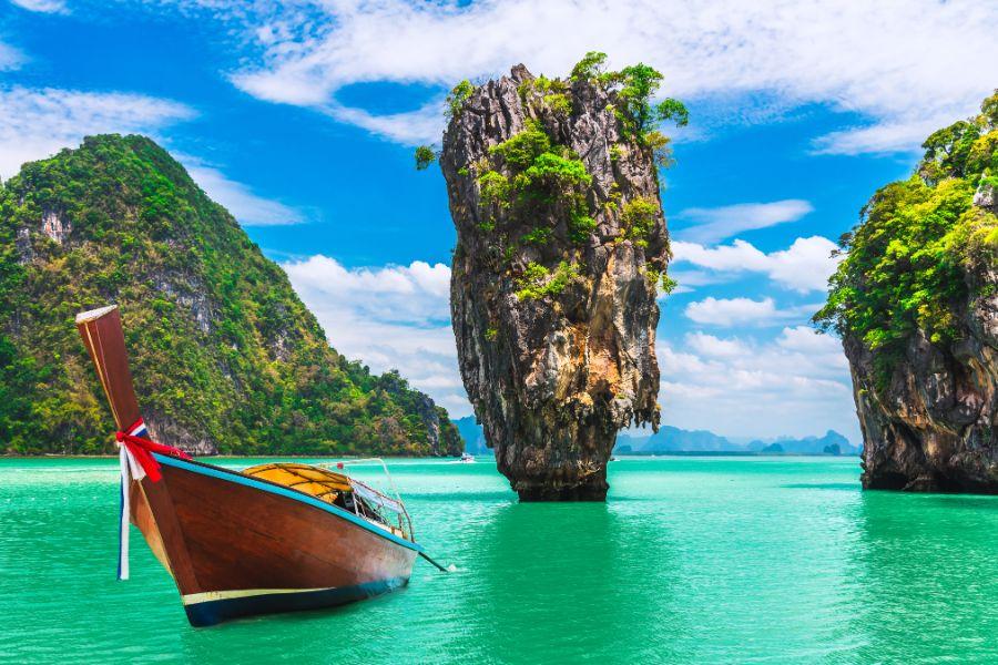 صور تايلند، أفضل الوجهات السياحية في تايلند، خليج بان ناه، جزيرة جيمس بوند
