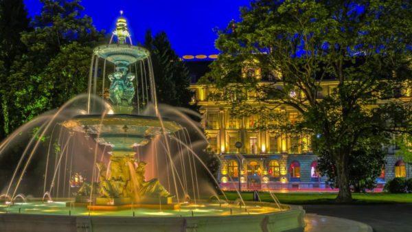 صور جنيف، صور سفر، أهم المعالم السياحية في جنيف، الحديقة الإنجليزية