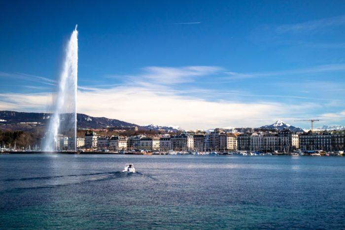 صور جنيف، صور سفر، أهم المعالم السياحية في جنيف، نافورة جنيف