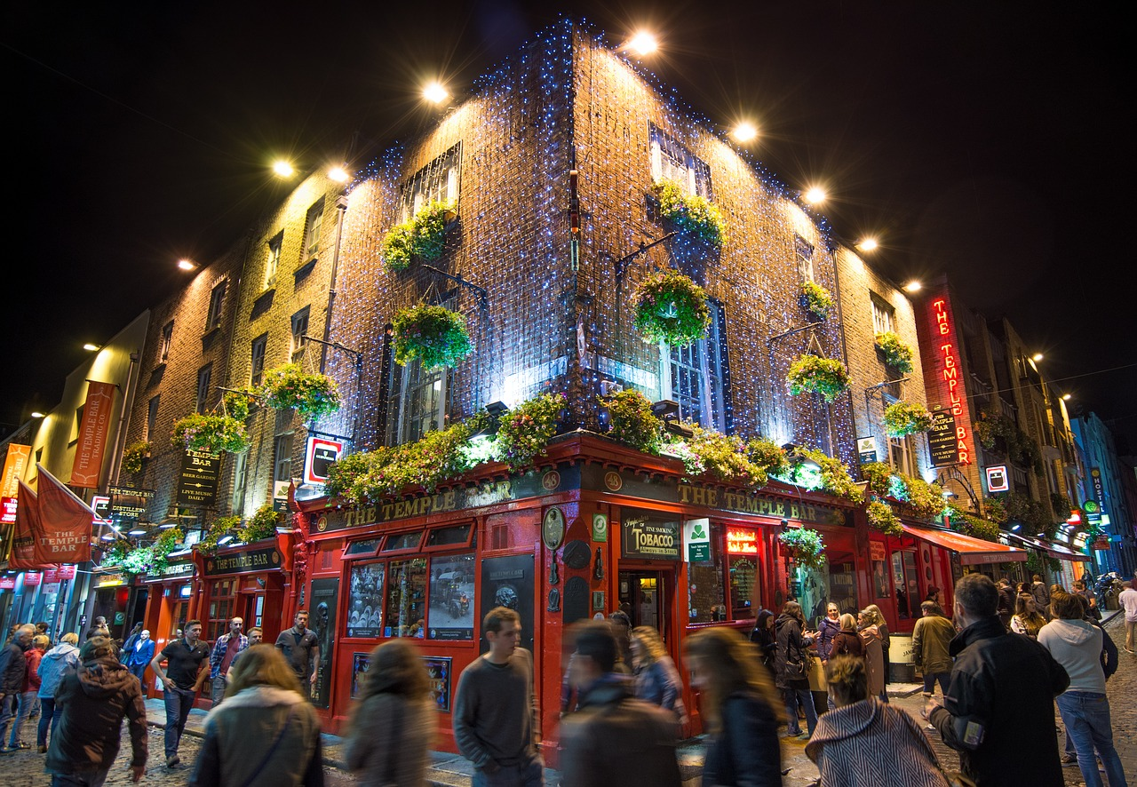 صور دبلن، صور سفر، أفضل المعالم السياحية في دبلن، تمبل بار