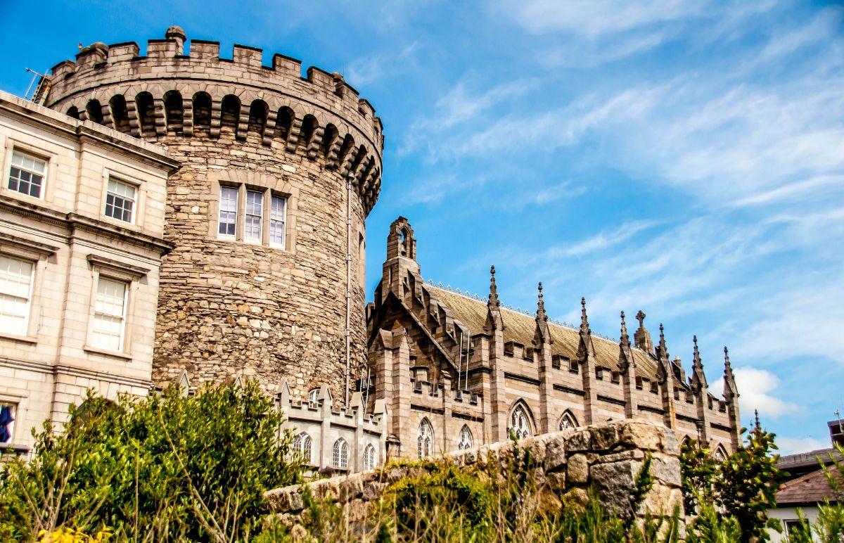 صور دبلن، صور سفر، أفضل المعالم السياحية في دبلن، قلعة دبلن