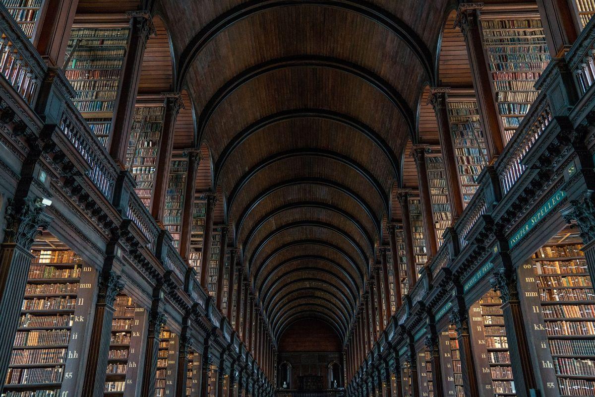 صور دبلن، صور سفر، أفضل المعالم السياحية في دبلن، مكتبة كلية ترنيتي