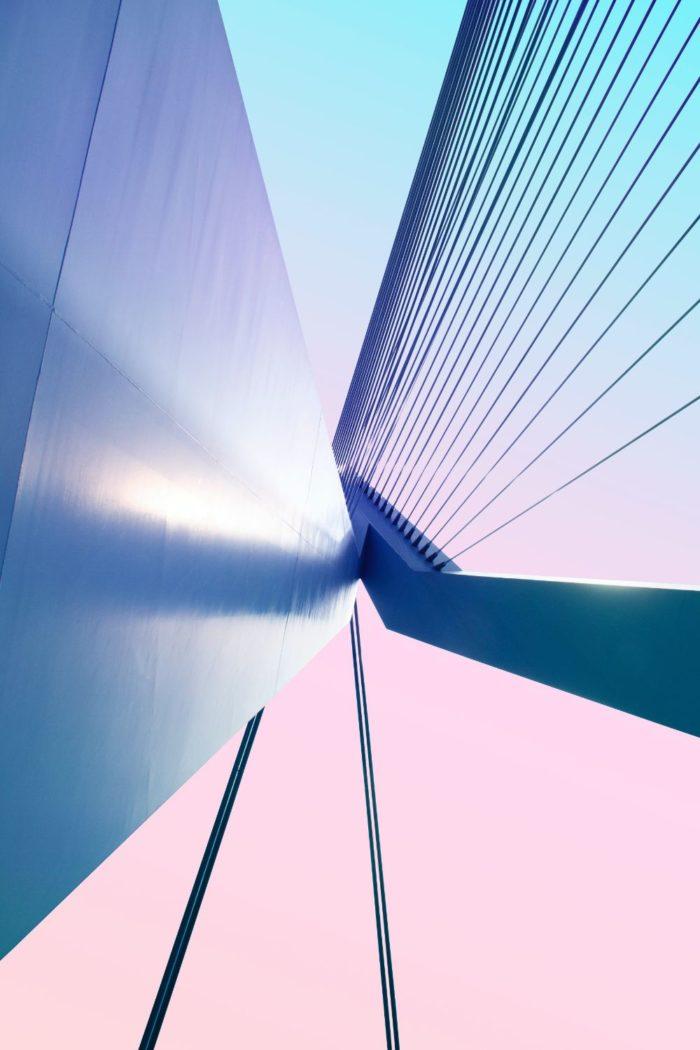 صور روتردام، صور سفر، أفضل المعالم السياحية في روتردام، جسر إيراسموس