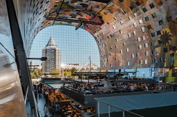 صور روتردام، صور سفر، أفضل المعالم السياحية في روتردام، سوق روتردام