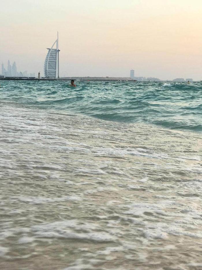 صور سفر، المعالم السياحية في الامارات شاطئ كايت بيش، دبي