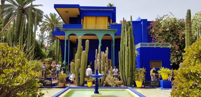 صور سفر، المعالم السياحية في المغرب حديقة ماجوريل، مراكش