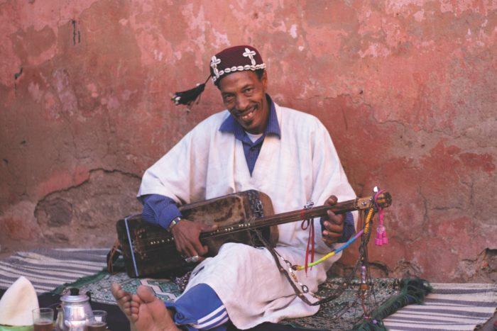 صور سفر، المعالم السياحية في المغرب موسيقى الشارع، مراكش