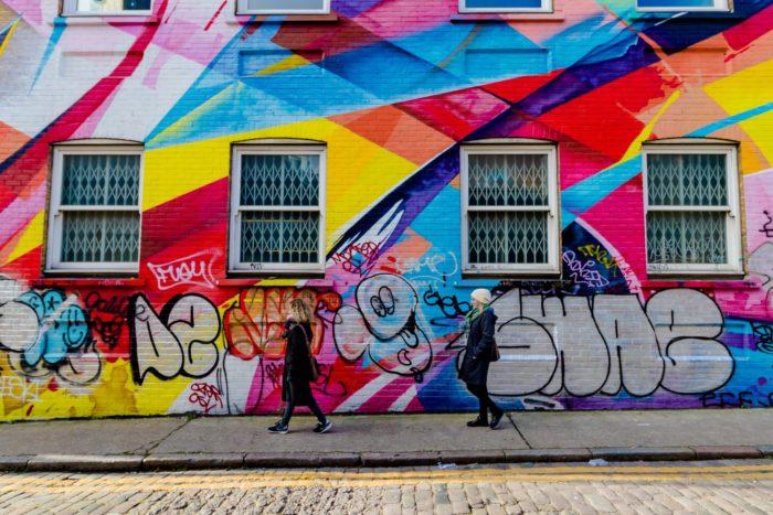 صور سفر، المعالم السياحية في المملكة المتحدة غرافيتي الشارع، لندن