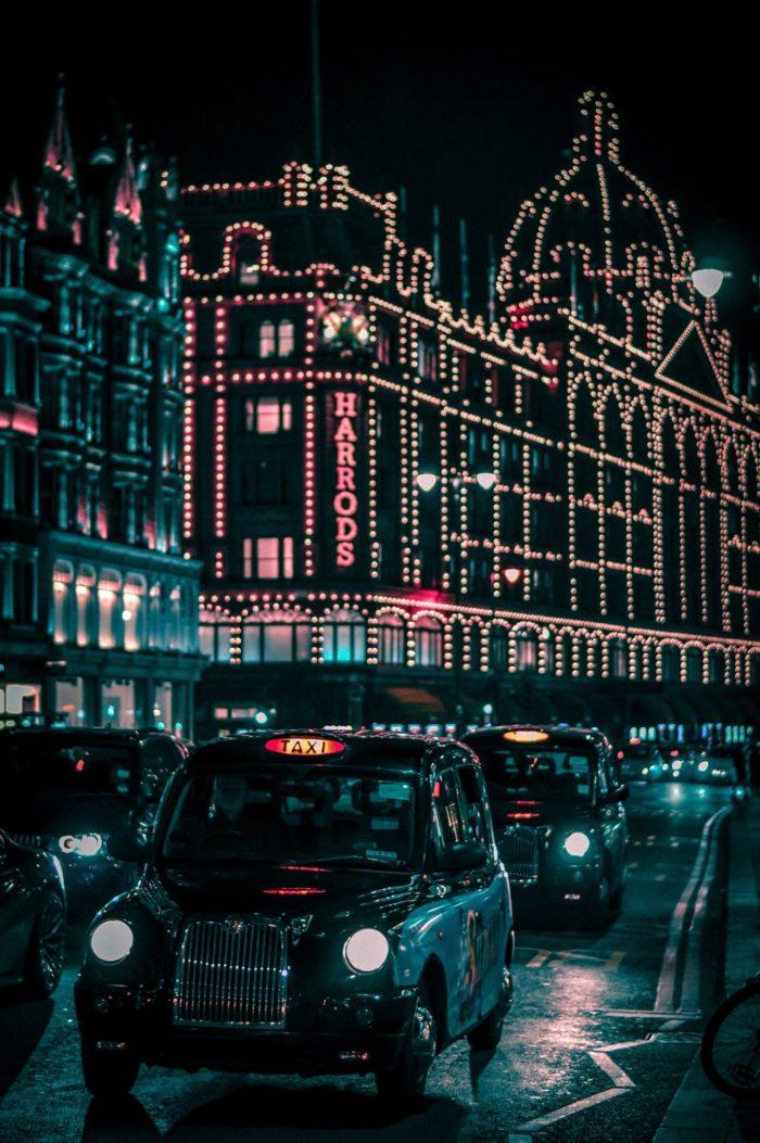 صور سفر، المعالم السياحية في المملكة المتحدة هارودز، لندن