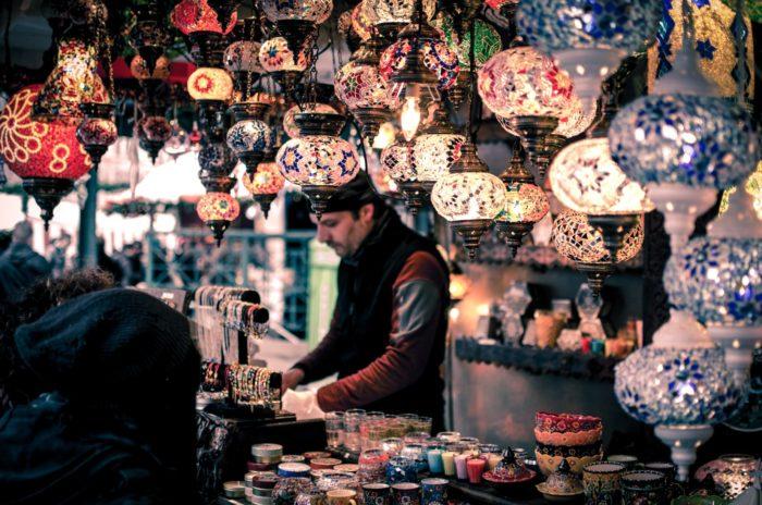 صور سفر، المعالم السياحية في تركيا البازار الكبير، إسطنبول