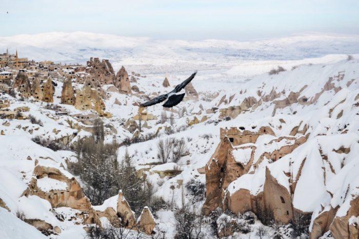 صور سفر، المعالم السياحية في تركيا الجبال، كابادوكيا
