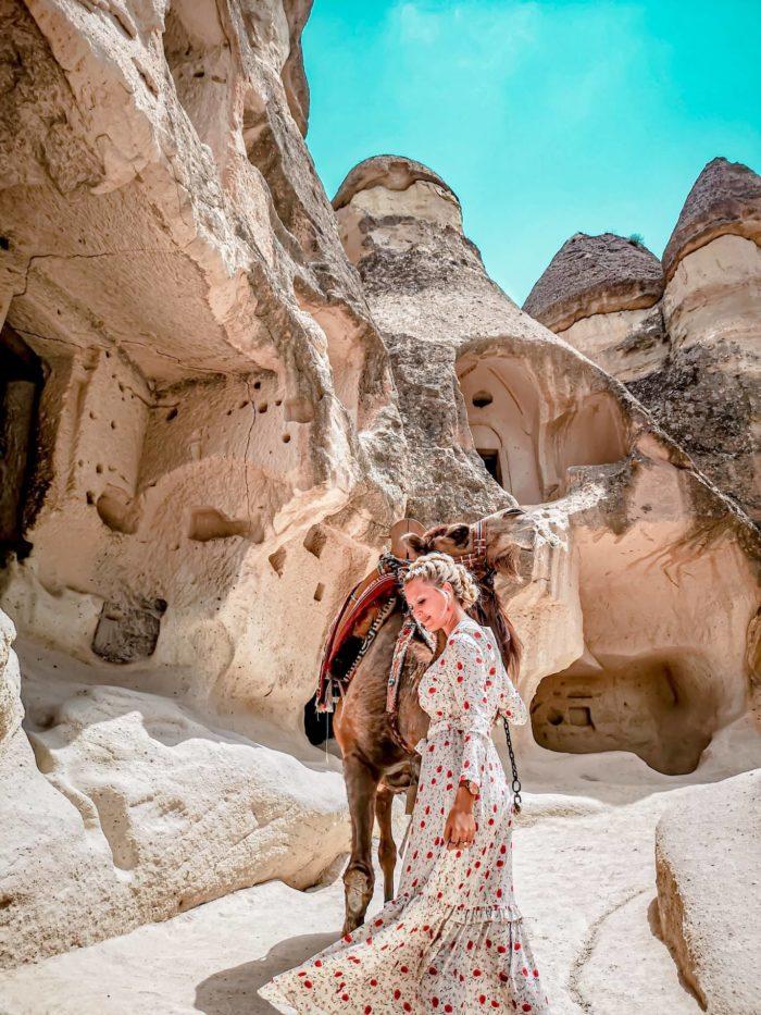 صور سفر، المعالم السياحية في تركيا الكهوف، كابادوكيا