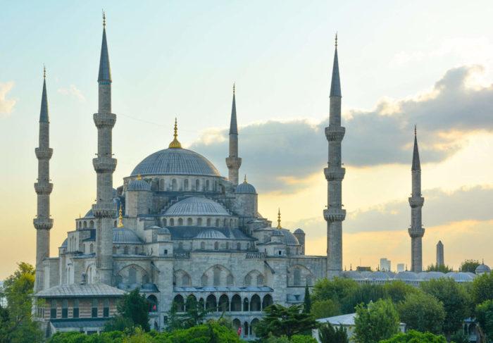 صور سفر، المعالم السياحية في تركيا المسجد الأزرق، سلطان أحمد، إسطنبول