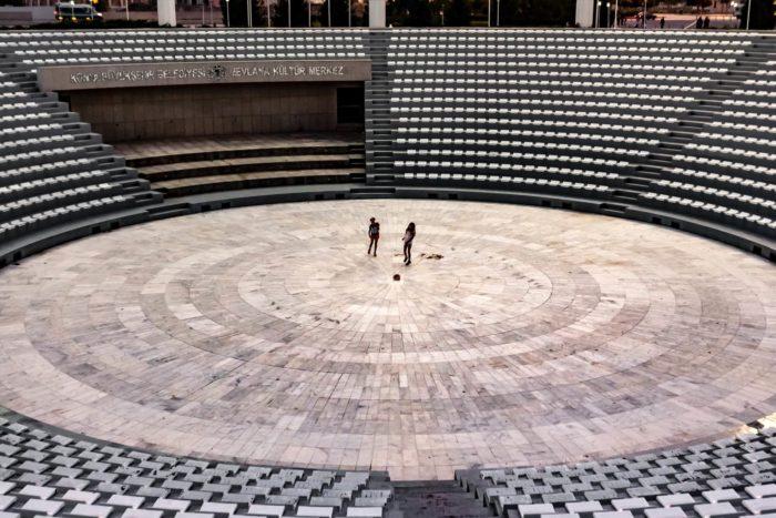 صور سفر، المعالم السياحية في تركيا المسرح، قونية
