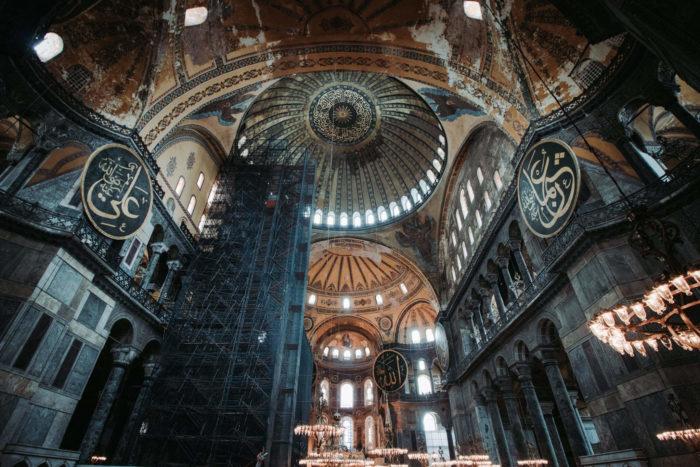 صور سفر، المعالم السياحية في تركيا أيا صوفيا، إسطنبول