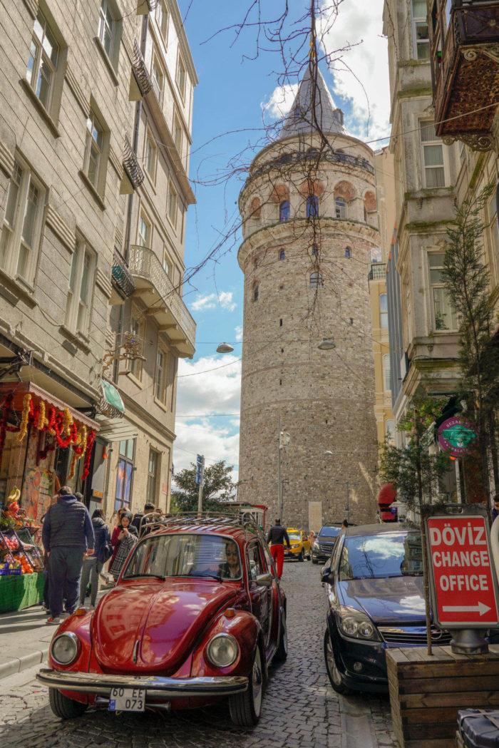 صور سفر، المعالم السياحية في تركيا برج غلطة، إسطنبول