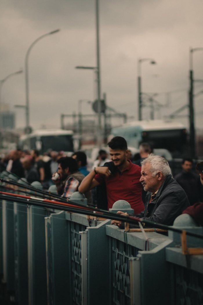 صور سفر، المعالم السياحية في تركيا جسر غلطة، إسطنبول