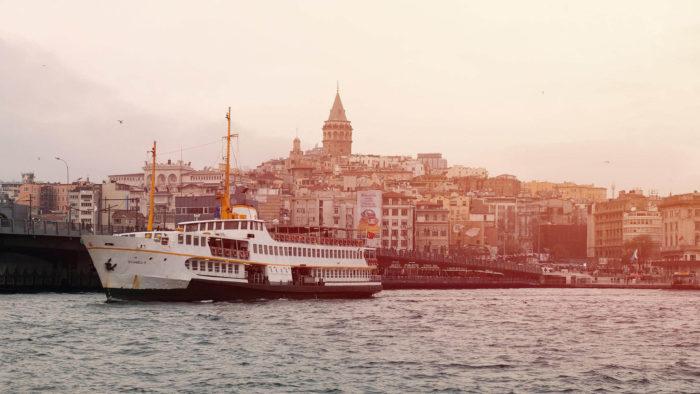 صور سفر، المعالم السياحية في تركيا رحلة بحرية على البوسفور، إسطنبول