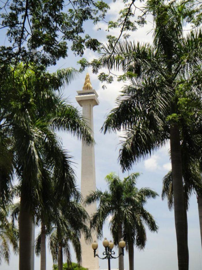 صور سفر، المعالم السياحية في جاكرتا، برج موناس