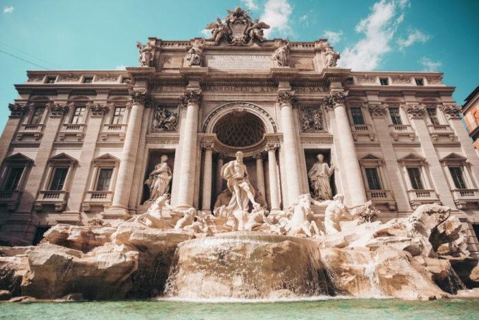 صور سفر، المعالم السياحية في روما، نافورة تريفي