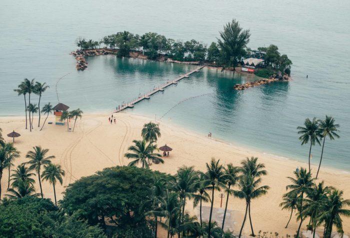 صور سفر، المعالم السياحية في سنغافورة جزيرة سنتوسا