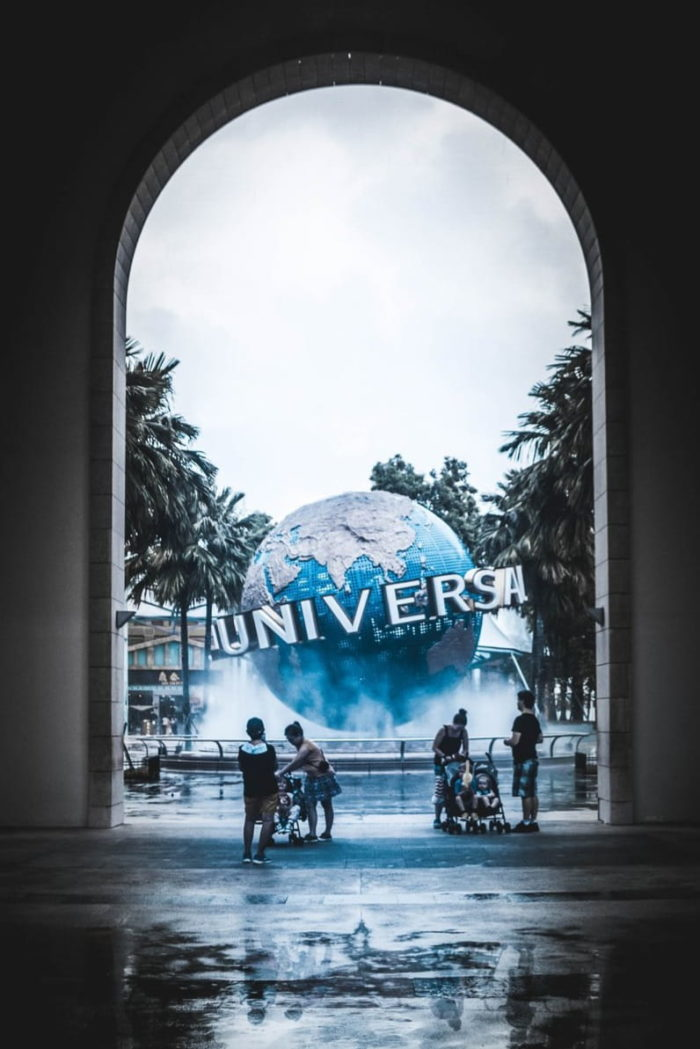 صور سفر، المعالم السياحية في سنغافورة يونيفرسال ستوديو