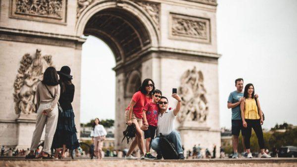 صور سفر، المعالم السياحية في فرنسا الشانزليزه، قوس النصر، باريس