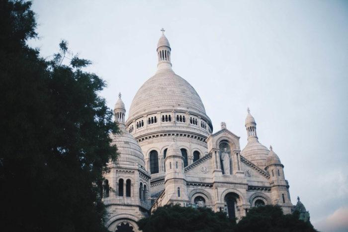 صور سفر، المعالم السياحية في فرنسا حي مونمارتر، كنيسة القلب المقدس، باريس