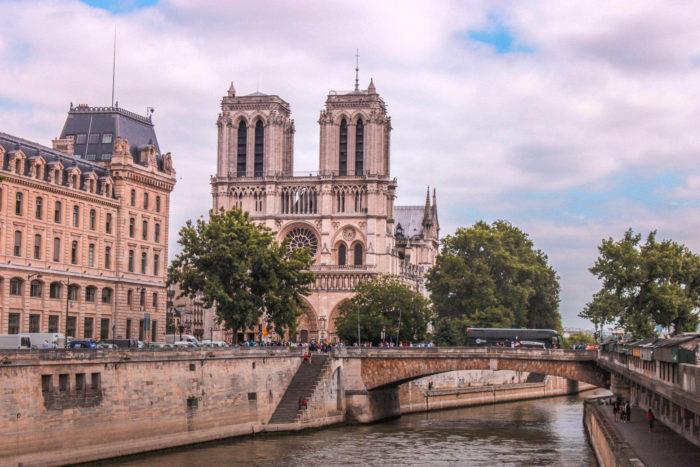صور سفر، المعالم السياحية في فرنسا كاتدرائية نوتردام، باريس