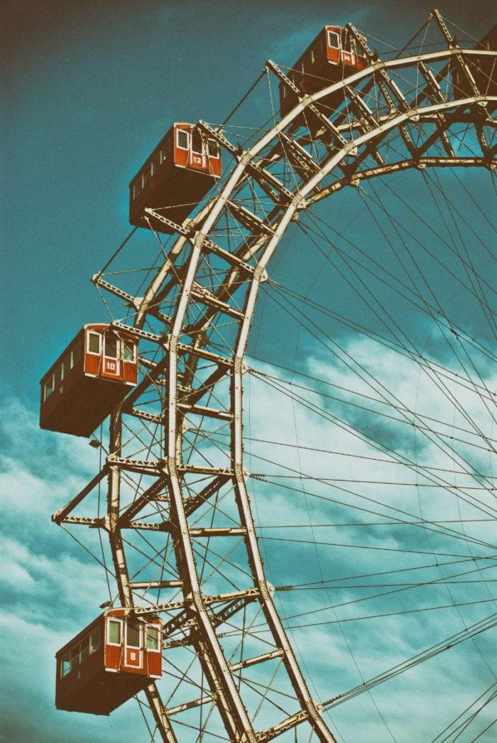 صور سفر، المعالم السياحية في فيينا،العجلة العملاقة